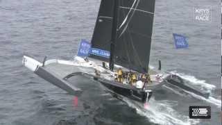 Krys Ocean Race -Le grand accueil aux Tonnerres de Brest pour les MOD 70