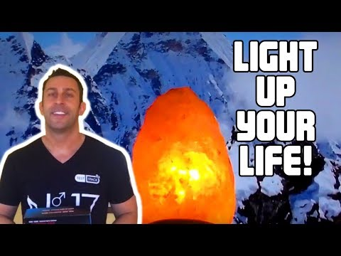 What does it do?   Himalayan Salt Crystal Lamp!  MAGIC!