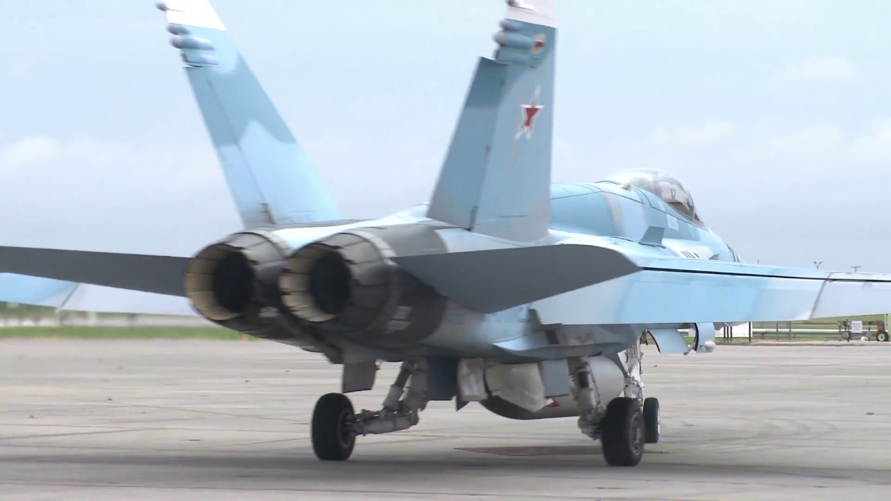 fa18 and f16 pilots fly at top gun fighter training