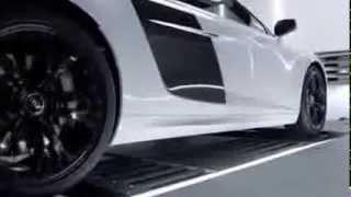 Audi R8 V10. El sonido de su motor es espectacular.