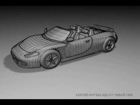 Autodesk Maya Car Modeling Tutorial