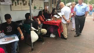 SWAIA 96th Annual Santa Fe Indian Market - Walking Around   Clip 7