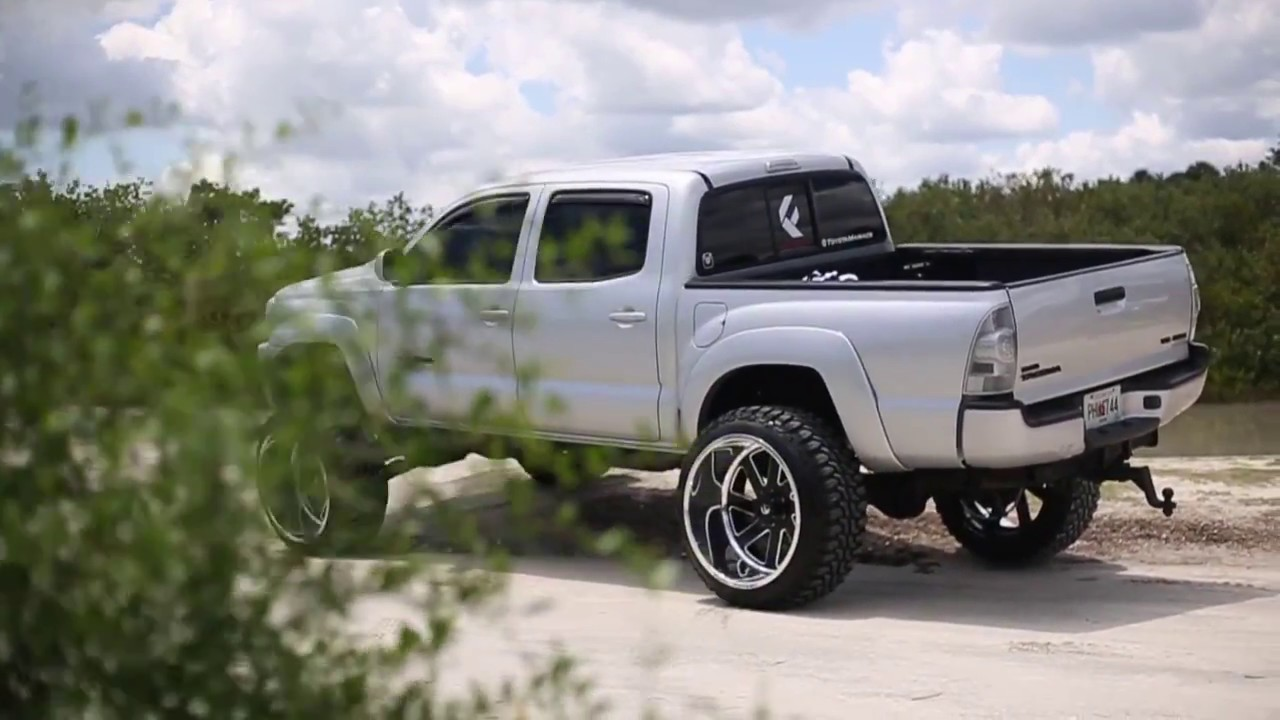 2017 Ford F150 Lifted >> Sloan's lifted Taco on Fuel Forged! - YouTube