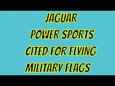 SHARE THIS.. MILITARY FLAGS NOT ALLOWED IN JACKSONVILLE FLORIDA - JAGUAR POWER SPORTS