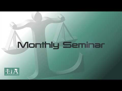 The Monthly Seminar