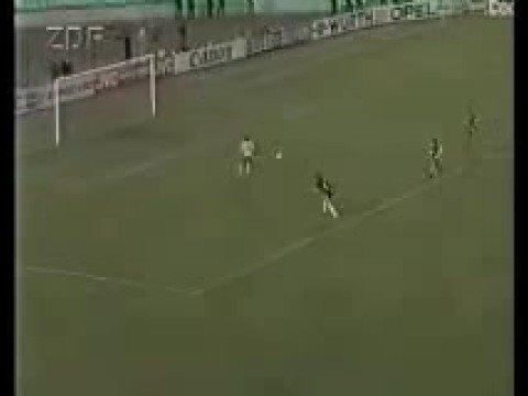 Werder Bremen Monaco 1992 Europapokal Pokalsieger mit Radio
