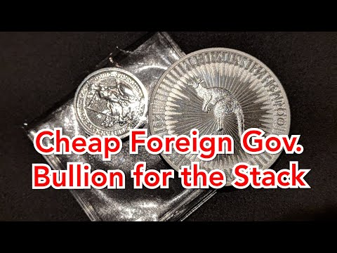 Cheap foreign government silver for the stack. Silver Unboxing from SD Bullion & Salivate Metal