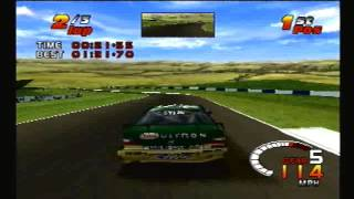 TOCA 2 Touring Car Challenge PS1: Donington (International)