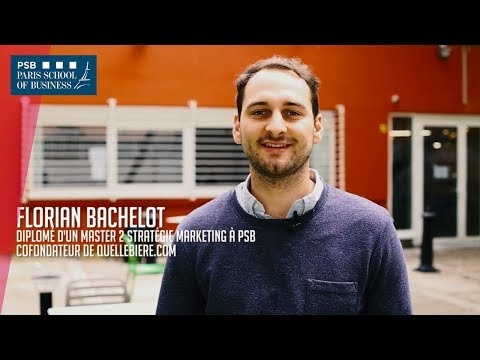 Start-up School of Business : Florian - co-fondateur de Quellebiere.com !
