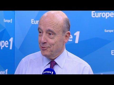"""Alain Juppé : """"Jacques Chirac est un modèle pour moi"""""""