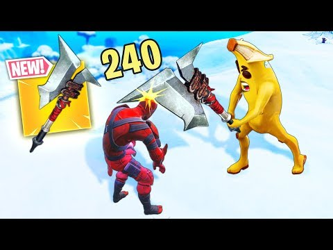 *NEW* OP 240 DMG PICKAXE..!! | Fortnite Funny And Best Moments Ep.418 (Fortnite Battle Royale)