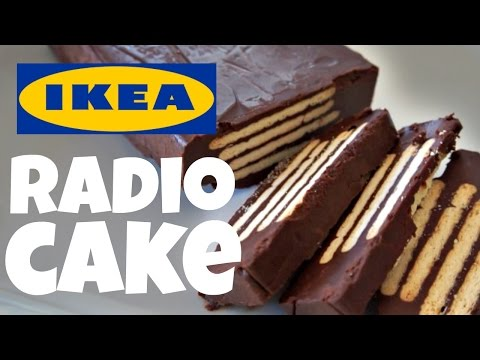 IKEA RADIO No-Bake CAKE Recipe Test | FIka Cookbook