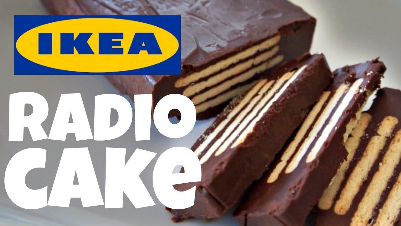 Ikea Radio No Bake Cake Recipe Test Fika Cookbook Youtube
