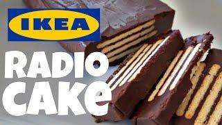 IKEA RADIO No-Bake CAKE Recipe Test | FIka Cookbook