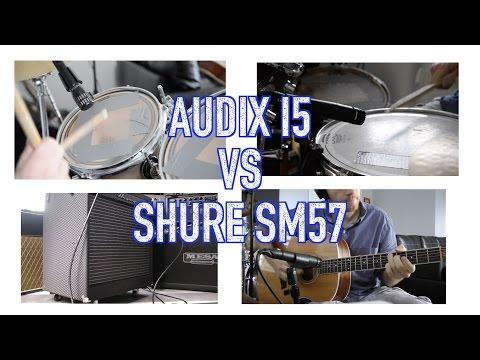 Audix i5 vs Shure SM57 Multi-Source Shootout