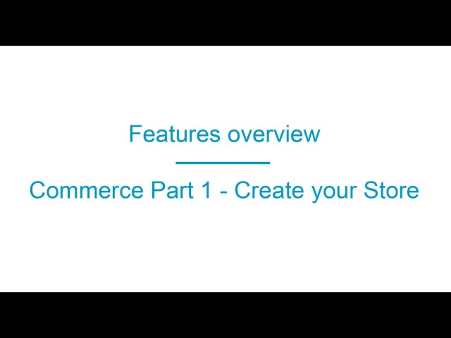 Apprikator.com Commerce Part 1
