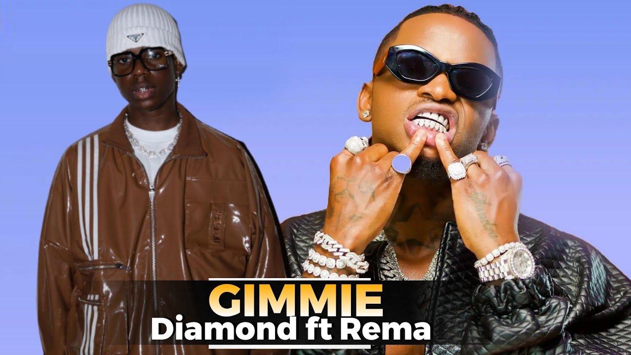 """Download Kumekucha! DIAMOND kaachia rasmi ngoma mpya,inaitwa """"Gimmie"""" ft REMA,ni balaaa,aimba kingereza...."""
