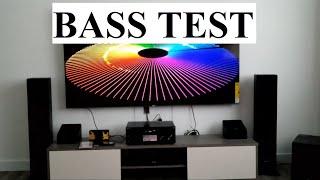 SONY STR-DN1080 Bass Sound Test 7.1 Surround Sound System