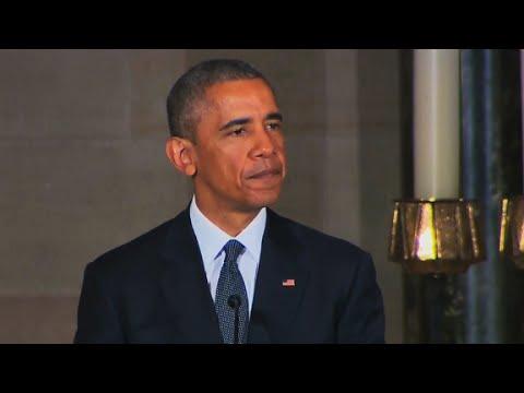 Obama delivers Beau Biden's eulogy