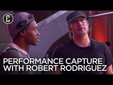 Performance Capture With Robert Rodriguez For Alita: Battle Angel!