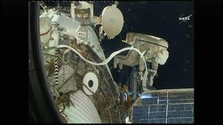 International Space Station Russian EVA 45 (time lapse)