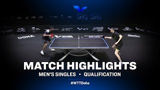 Daniel Gonzalez vs Kirill Skachkov | WTT Star Contender Doha 2021 | Men's Singles | QUAL Highlights