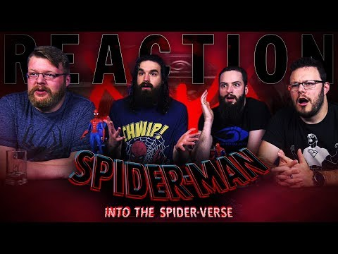 Spider-Man: Into The Spider-Verse - Official Trailer REACTION!!