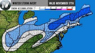 Winter Storm Avery Forecast thumbnail