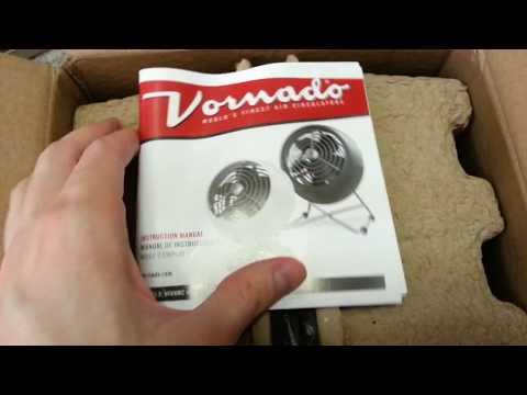 New Vornado VFan Mini Modern unbox and run
