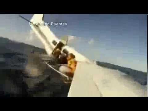 Plane Crashes Into