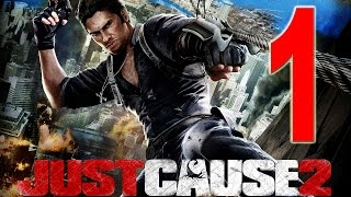Just cause 2 gameplay fr début de la campagne