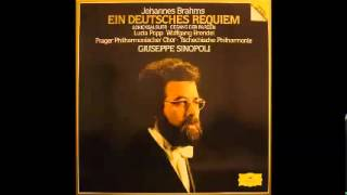 Brahms: Ein Deutsches Requiem -- Giuseppe Sinopoli: 3. Herr, lehre doch mich