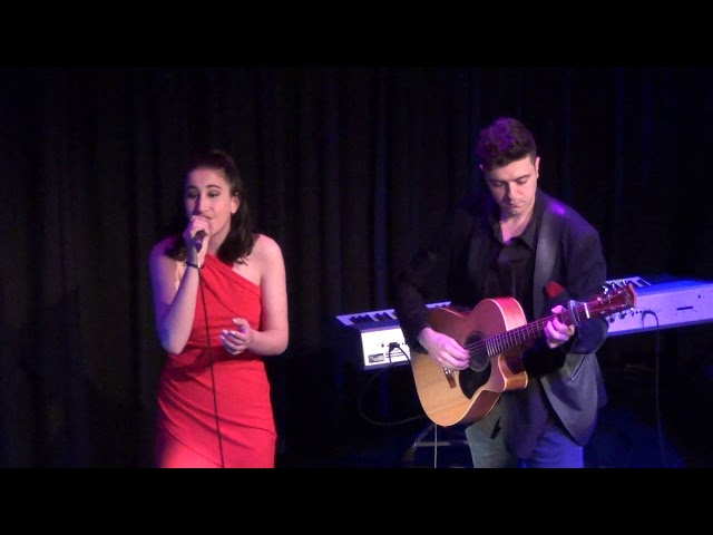 Hope Zorbas -singing Hero - Accompanied Thomas Clifos- SinOout Singing and Performance school.