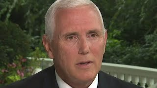 Mike Pence says he's willing to sit down with special counsel Robert Mueller