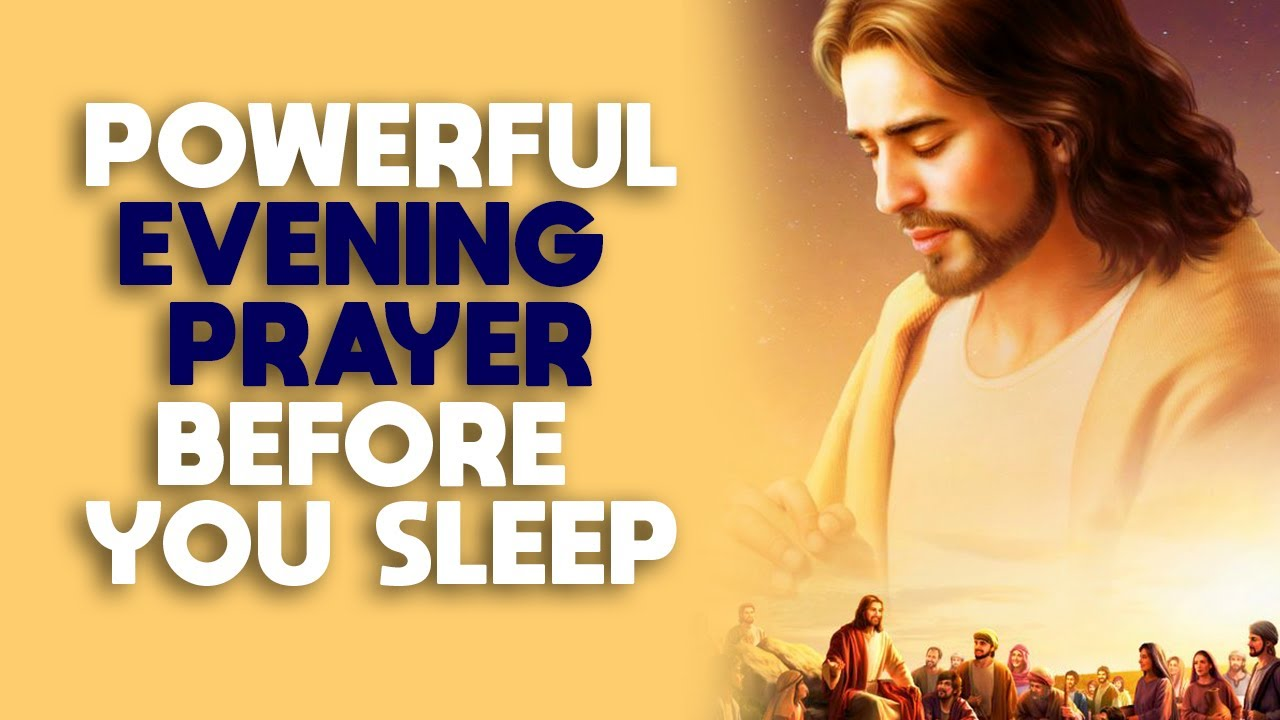 End Your Day With This Beautiful Evening Prayer Before You Sleep