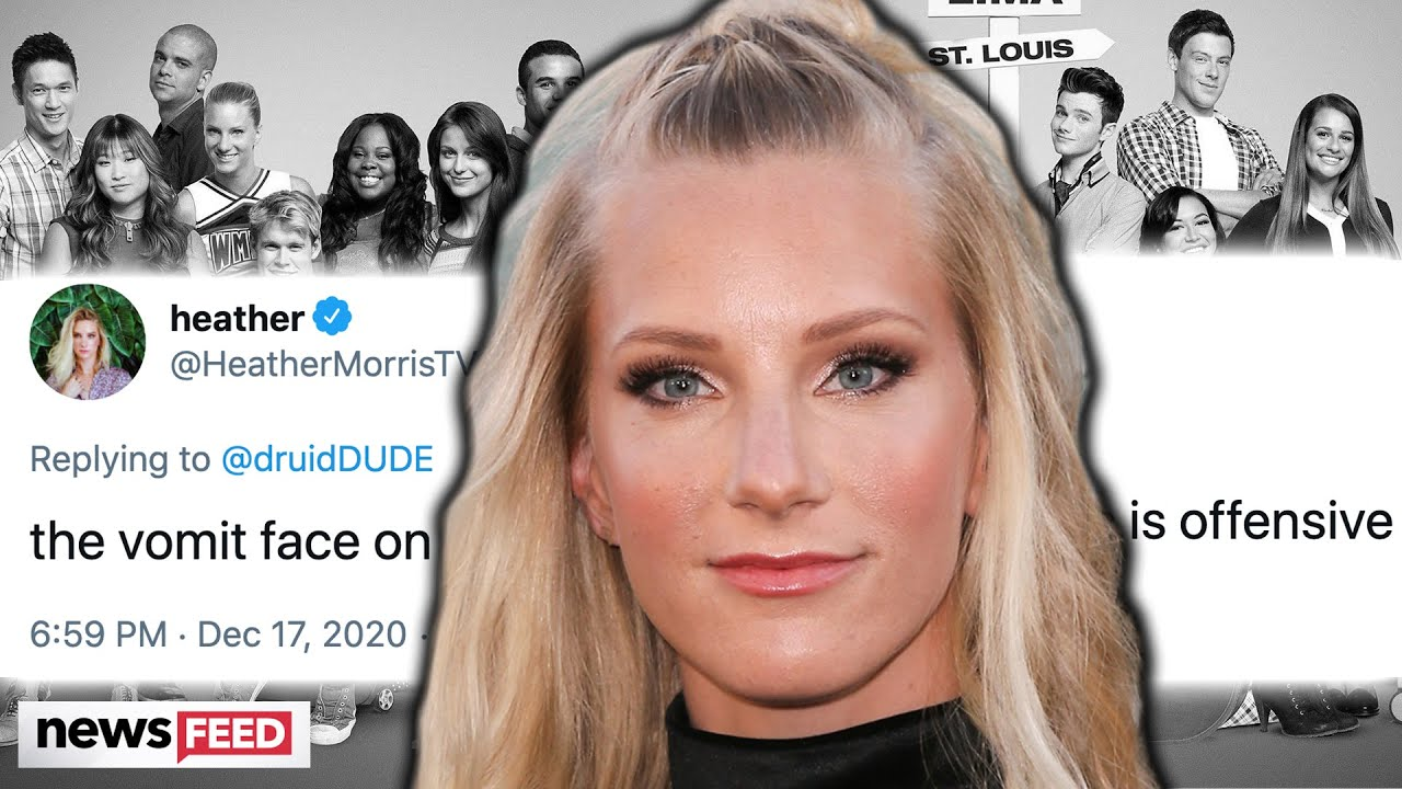 'Glee's' Heather Morris Slams 'OFFENSIVE' Tweet About This Late Co-Star!