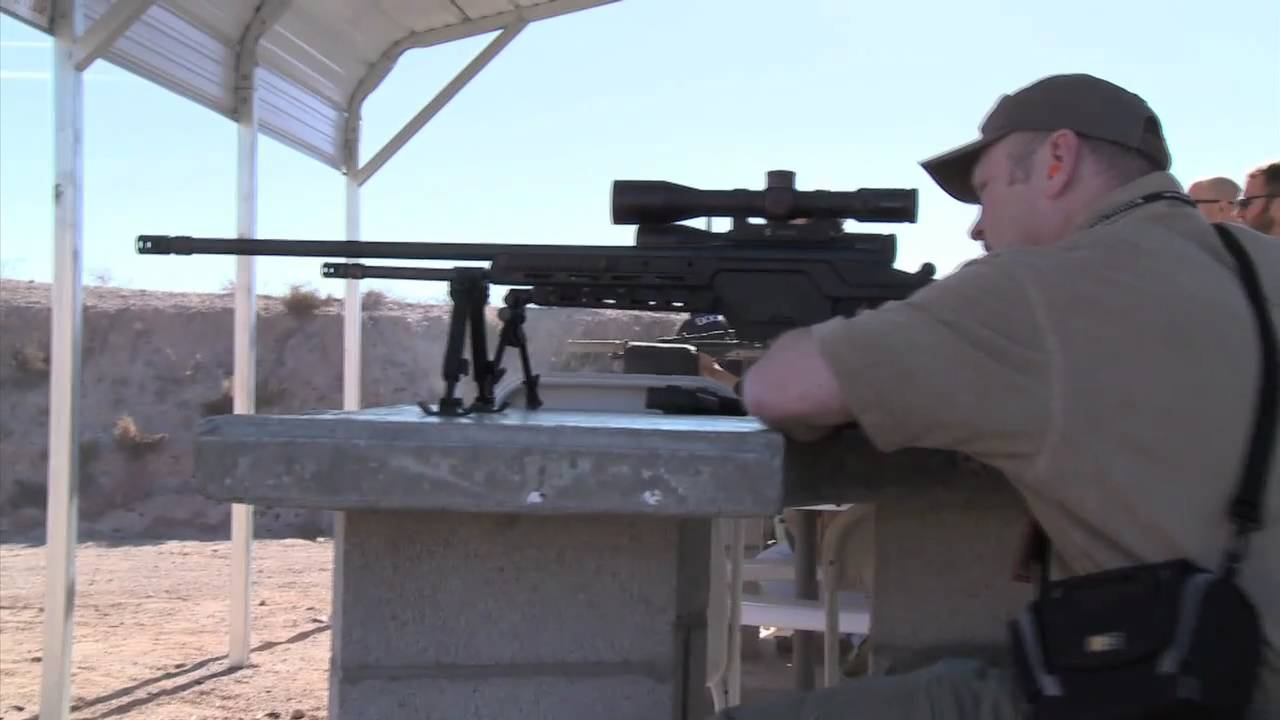 One Mile Out: Steyr Arms SSG 08 Long Range Tactical Rifle