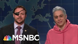 Pete Davidson Gets A Call Of Support From Dan Crenshaw | Morning Joe | MSNBC