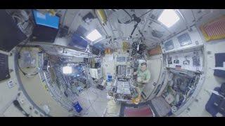 Космос 360  завтрак на МКС