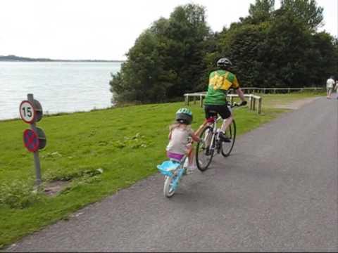 Cycle Around Draycott Water With Steve, Iva And Berri