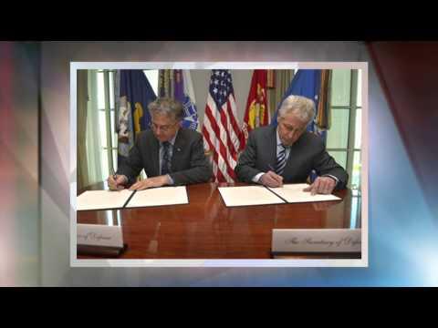 Hagel Hosts Serbian Defense Minister at Pentagon