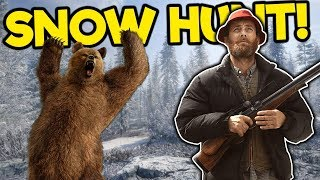 Bad Bear Steals My Reindeer! - The Hunter Call of the Wild Multiplayer