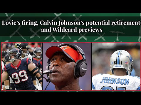 Moore and Connolly Football Show: Lovie Smith's firing and Wildcard previews