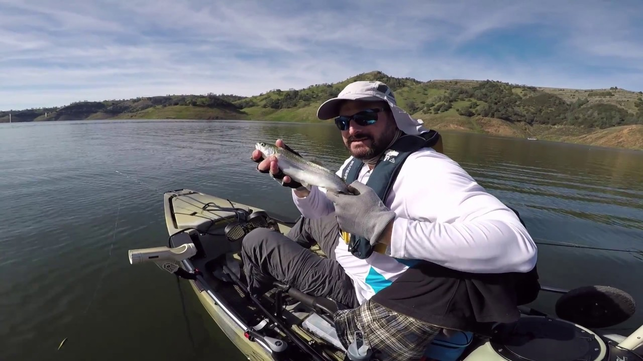 New melones lake fishing in my hobie pro angler 14 youtube for New melones lake fishing report