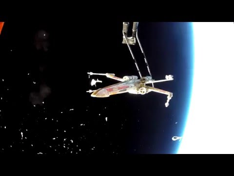 X-Wing in Space (#HeyJJ)