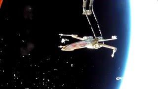 X-Wing in Space (#HeyJJ)