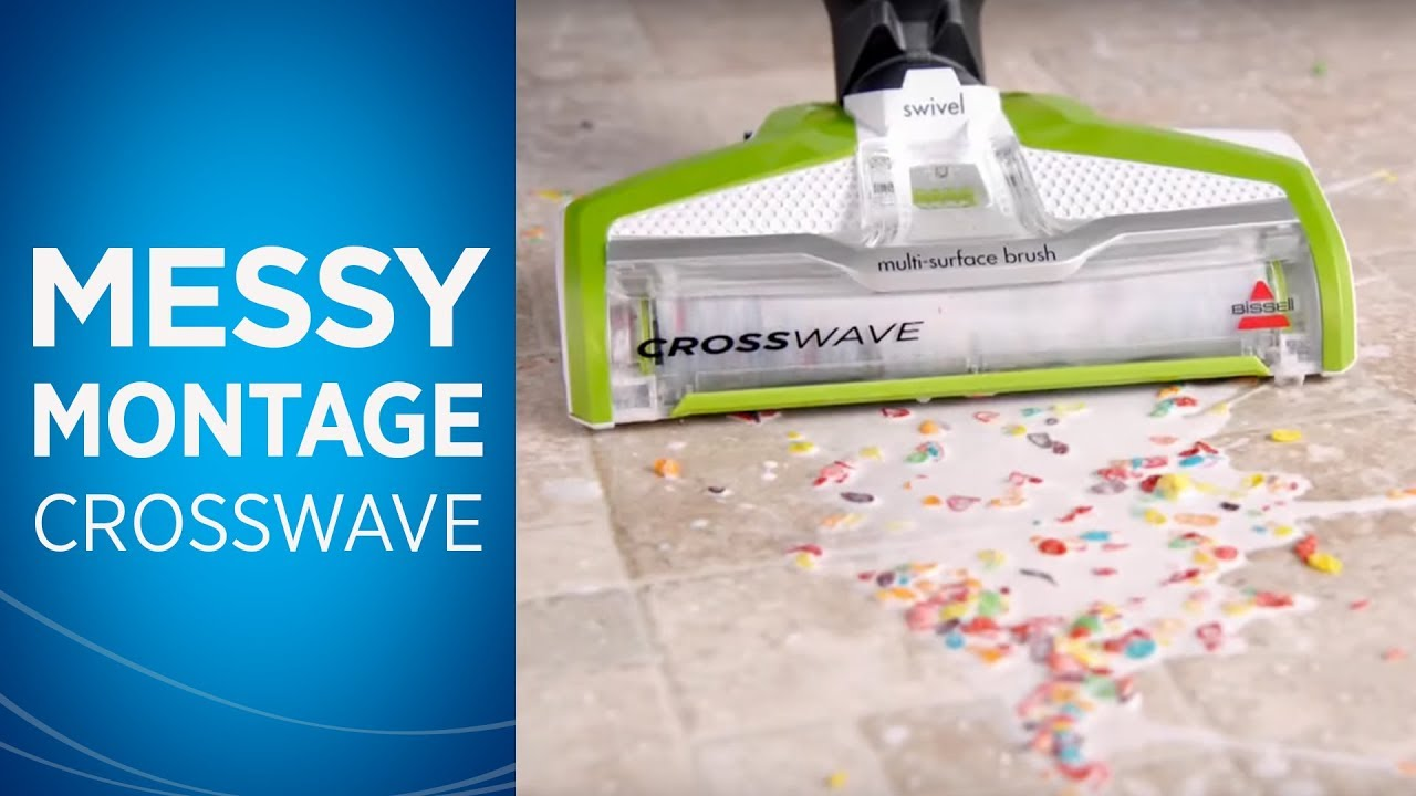 BISSELL Commercial CrossWave MultiSurface Floor Cleaner