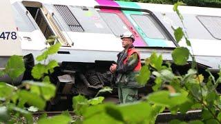 Intempéries: 7 blessés légers dans un accident de RER