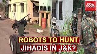 Robots To Help Indian Army In Jammu & Kashmir? | 5ive Live