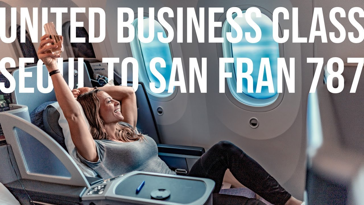 Worst Flight Review ever/United Polaris - Seoul to San Fran